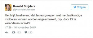 Tweet Ronald Snijders | GREEN AND THE CITIES